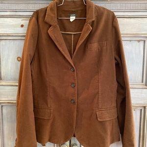JCrew rust corduroy jacket size T XL